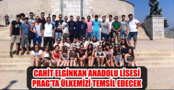 CAHİT ELGİNKAN ANADOLU LİSESİ PRAG'TA ÜLKEMİZİ TEMSİL EDECEK