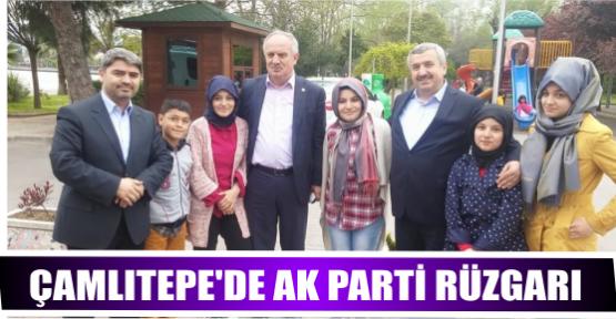 ÇAMLITEPE'DE AKPARTİ RÜZGARI