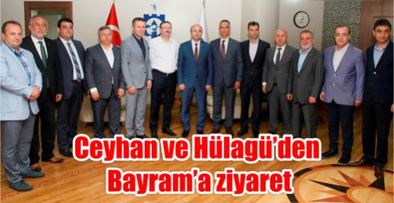 Ceyhan ve Hülagü'den Bayram'a ziyaret