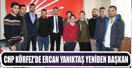 CHP Körfez'de Ercan Yanıktaş Yeniden başkan