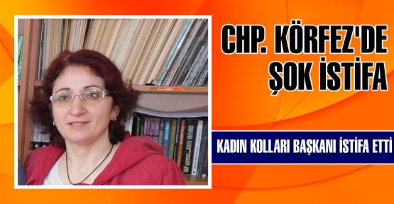 CHP KÖRFEZ'DE İSTİFA