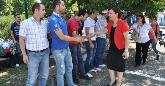 CHP'nin İzmit Aday Adayı Hürriyet Ziyaretlerde