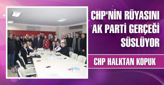 'CHP'nin rüyasını AK Parti gerçeği süslüyor'