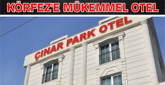 ÇINARPARK OTEL HİZMETE BAŞLADI