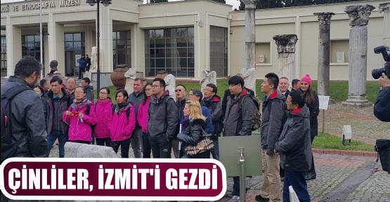 ÇİNLİLER, İZMİT'İ GEZDİ