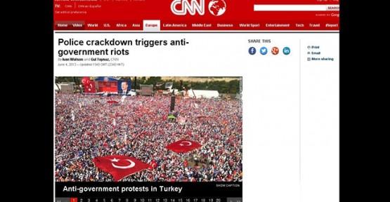 CNN International pravakasyona devam ediyor