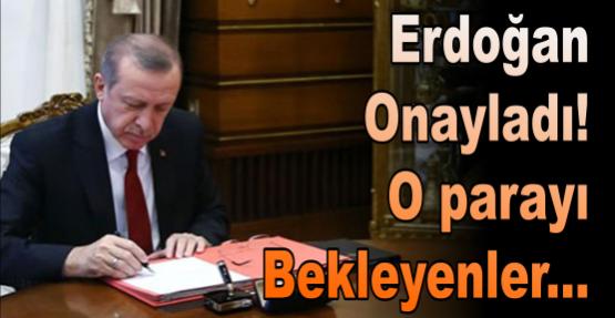 Cumhurbaşkanı Erdoğan memurların ikramiye mağduriyetini giderdi