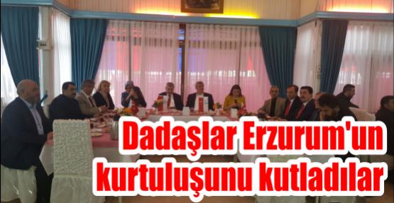 Dadaşlar Erzurum'un kurtuluşunu kutladılar