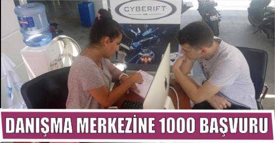 DANIŞMA MERKEZİNE 1000 BAŞVURU