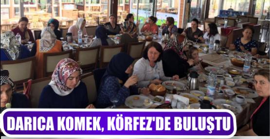 DARICA KOMEK, KÖRFEZ'DE BULUŞTU
