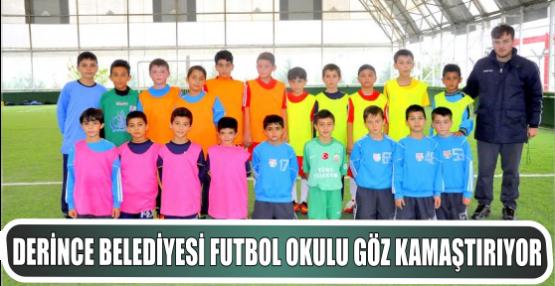 Derince Belediyesi Futbol Okulu göz kamaştırıyor