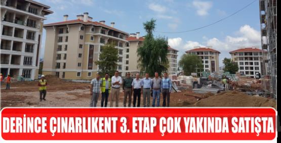 DERİNCE ÇINARLIKENT 3. ETAP ÇOK YAKINDA SATIŞTA