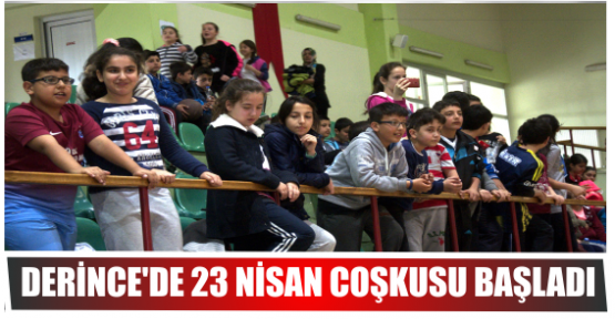 DERİNCE'DE 23 NİSAN COŞKUSU BAŞLADI