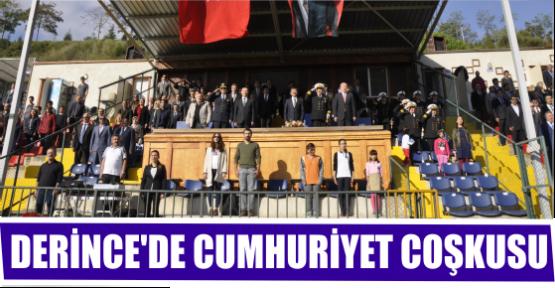 DERİNCE'DE CUMHURİYET COŞKUSU