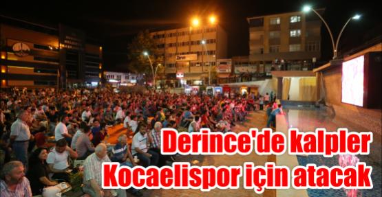 Derince'de kalpler Kocaelispor için atacak