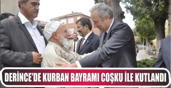 Derince'de Kurban Bayramı coşku ile kutlandı