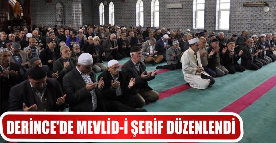 DERİNCE'DE MEVLİD-İ ŞERİF DÜZENLENDİ
