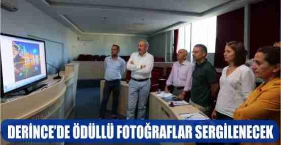 DERİNCE'DE ÖDÜLLÜ FOTOĞRAFLAR SERGİLENECEK