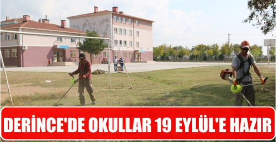 Derince'de Okullar 19 Eylül'e Hazır
