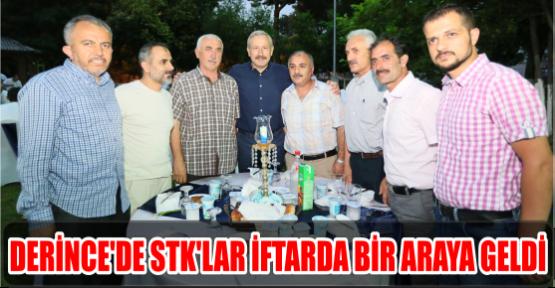 DERİNCE'DE STK'LAR İFTARDA BİR ARAYA GELDİ