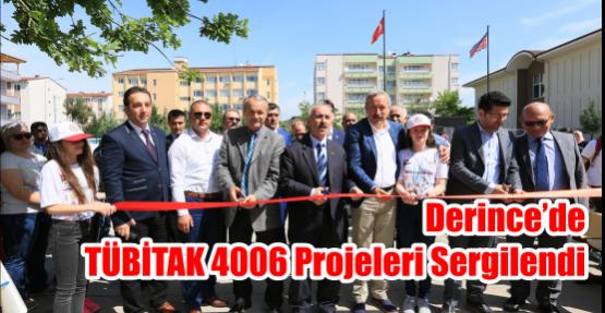 Derince'de TÜBİTAK 4006 Projeleri Sergilendi