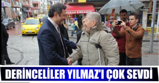 DERİNCELİLER YILMAZ'I ÇOK SEVDİ