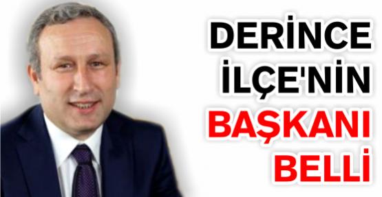 DERİNCE'NİN BELEDİYE BAŞKANI BELLİ ..!
