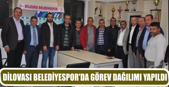 DİLOVASI BELEDİYESPOR'DA GÖREV DAĞILIMI YAPILDI