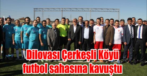 Dilovası Çerkeşli Köyü futbol sahasına kavuştu