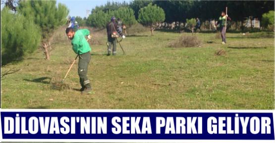 DİLOVASI'NIN SEKA PARKI GELİYOR