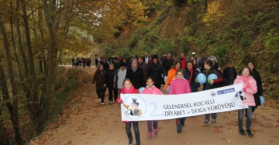Diyabete dikkat çekmek için yürüyecekler