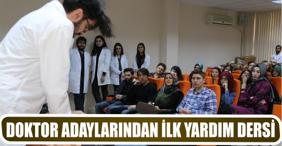 DOKTOR ADAYLARINDAN İLK YARDIM DERSİ