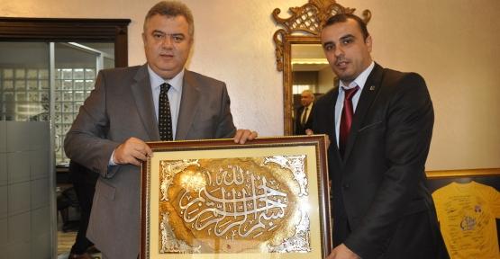 Duyar ve yönetiminden Başkan Alemdar'a ziyaret