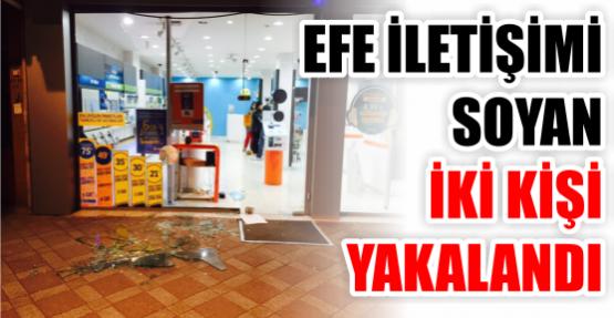 Efe İletişim'i soyan 2 kişi, Yakalandı