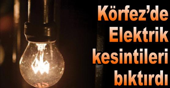 Elektrik kesintileri bıktırdı