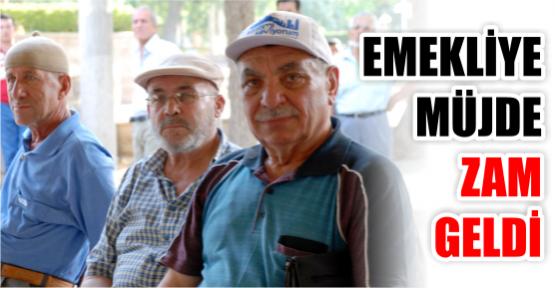 EMEKLİYE ZAM GELDİ