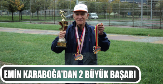 Emin Karaboğa 2. Cumhuriyet koşusunda iki birincilik