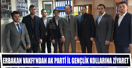 Erbakan Vakfı'ndan Ak Parti İl Gençlik Kollarına Ziyaret