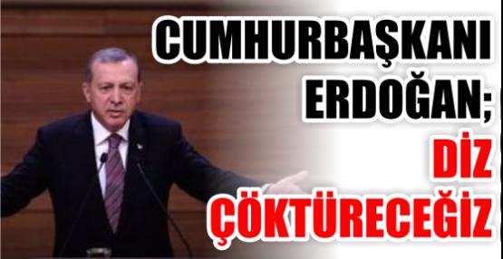 Erdoğan, muhtarlar buluşmasında konuşuyor