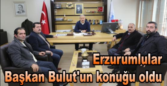 Erzurumlular Başkan Bulut'un konuğu oldu