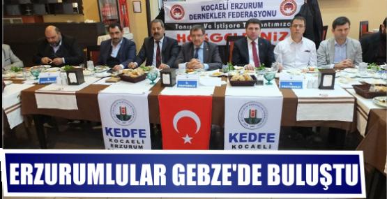 Erzurumlular Gebze'de buluştu