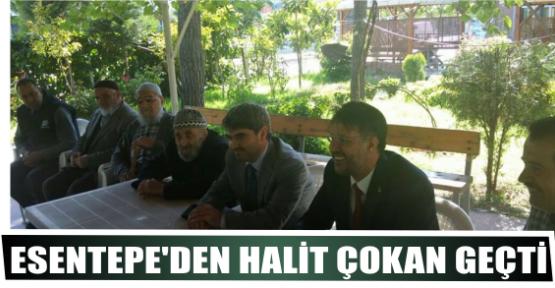 ESENTEPE'DEN HALİT ÇOKAN GEÇTİ
