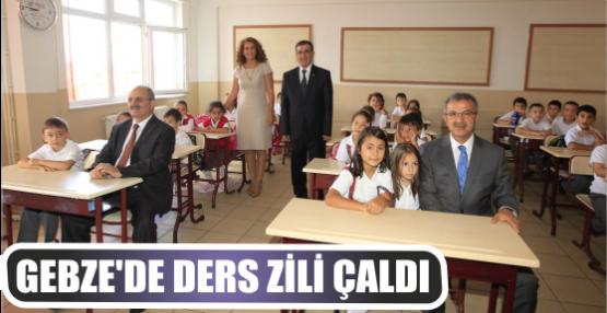 GEBZE'DE DERS ZİLİ ÇALDI