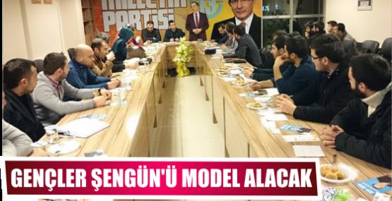 GENÇLER ŞENGÜN'Ü  MODEL ALACAK