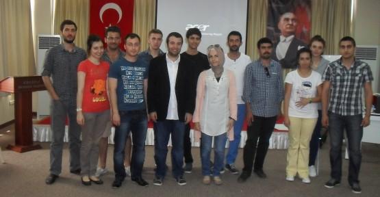 Gençlik Meclisi Üyeleri Gönüllülük eğitimi aldı