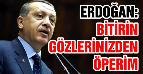 Gezi Parkı olayları için 'artık bitmiştir, bundan sonra tahammül yok' dedi