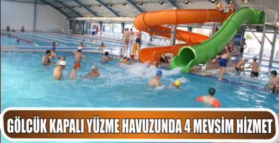Gölcük Belediyesi Kapalı Yüzme Havuzu 4 Mevsim keyif veriyor