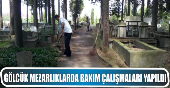 Gölcük Belediyesi Mezarlıklar Müdürlüğü ekiplerinden Bakım ve Onarım çalışmaları