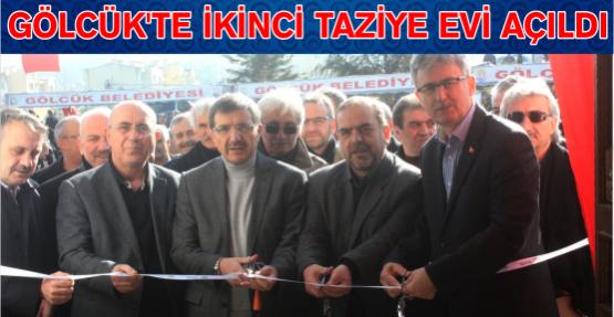 Gölcük Belediyesi tarafından yaptırılan 2. Taziye evi Düzağaç Mahallesinde törenle hizmete girdi