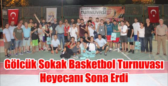 Gölcük Sokak Basketbol Turnuvası Heyecanı Sona Erdi